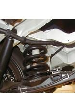VW T5/6 Kit de rehausse env. 30 mm par jeu des ressorts (4 ressorts principales)