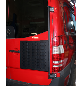 Door Caddy - Porte-tout universel ou porte roue pour Mercedes Sprinter / Crafter I avec portes 270 °