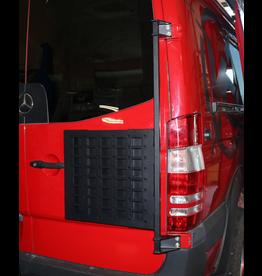 Door Caddy - Universal- oder Reserveradträger für Mercedes Sprinter / Crafter I mit 270 ° Türen