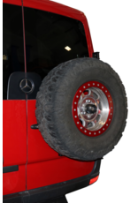 Van Compass Door Caddy - Universal- oder Reserveradträger für Mercedes Sprinter / Crafter I mit 270 ° Türen