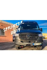 Mercedes Benz Sprinter 907 (with manual transmission) winch mounting kit