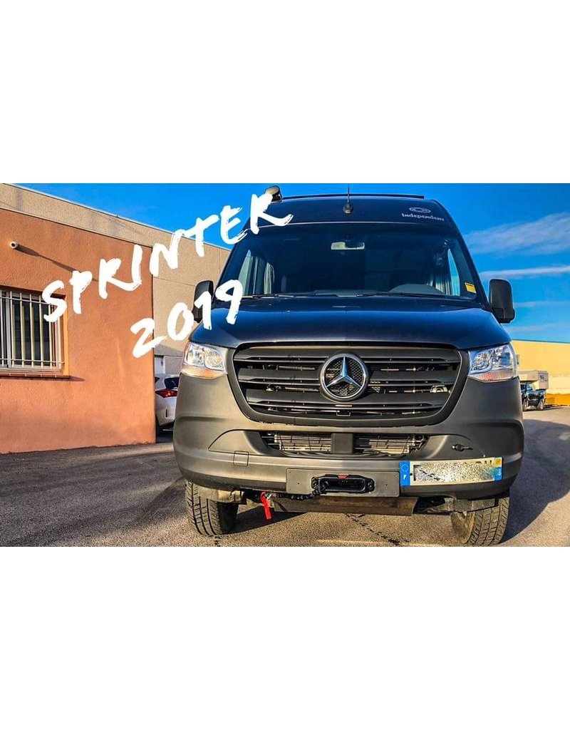 Seilwindenmontageplatte für Mercedes Benz Sprinter 907/VS30 mit Schaltgetriebe