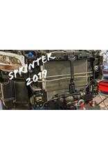 Platine montage treuil Sprinter 907