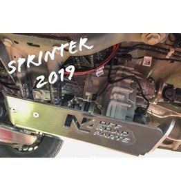 Mercedes Sprinter 907 4x4 Aluminium-protection/ skid plate for transfer case