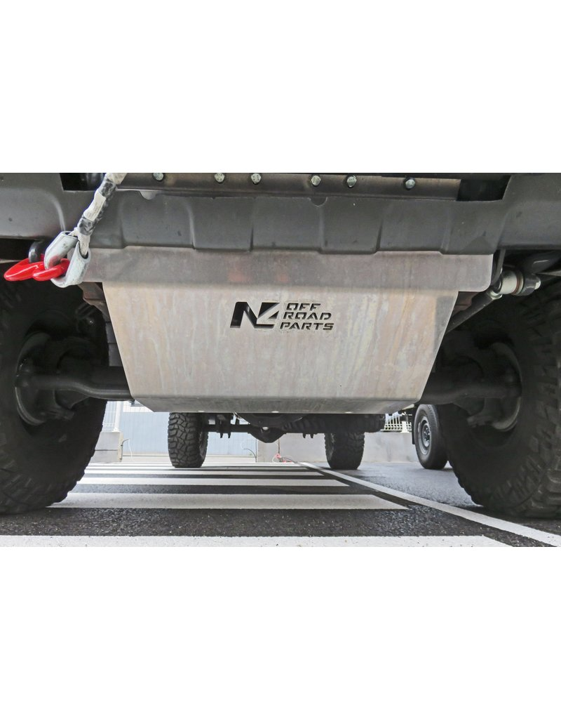 IVECO Daily VI (2014–2019) 4x4  blindage moteur en alu 8 mm