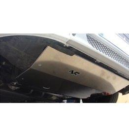 Fiat Ducato /Citroën Jumper/Peugeot Boxer /Ram ProMaster (2006-2014) blindage moteur en alu 6 mm