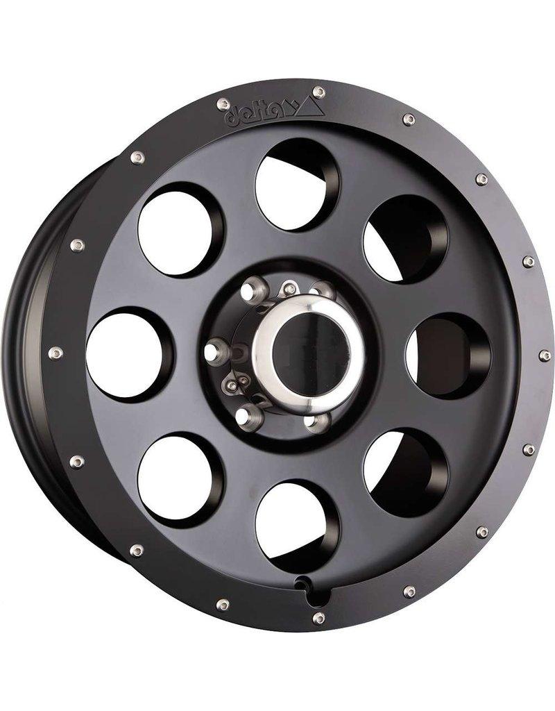 Alloy rim, 8.0x17 H2, 5x120 ET 45 beadlock optic for VW T5/6