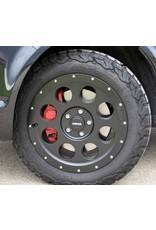 DELTA KLASSIK B Alufelge, 8.0x17 H2, 5x120 ET 45 65,1 Beadlockoptik für VW T5/6, Crafter