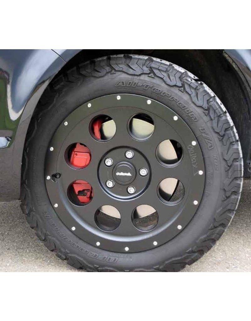 Alufelge, 8.0x17 H2, 5x120 ET 45 Beadlockoptik für VW T5/6