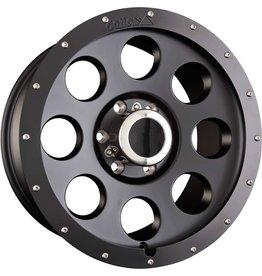 Alloy rim, 18x8,5 6/130 ET 40, beadlock optic for Mercedes Sprinter