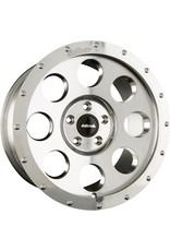 Alloy rim, polished alu, 18x8,5 6/130, beadlock optic for Mercedes Sprinter