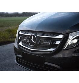 Kit intégration Lazer homologué Feux de route - Mercedes Vito/classe V 447