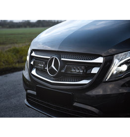 LAZER LED Fernlicht Einbausatz für  Mercedes Vito/V Klasse 447