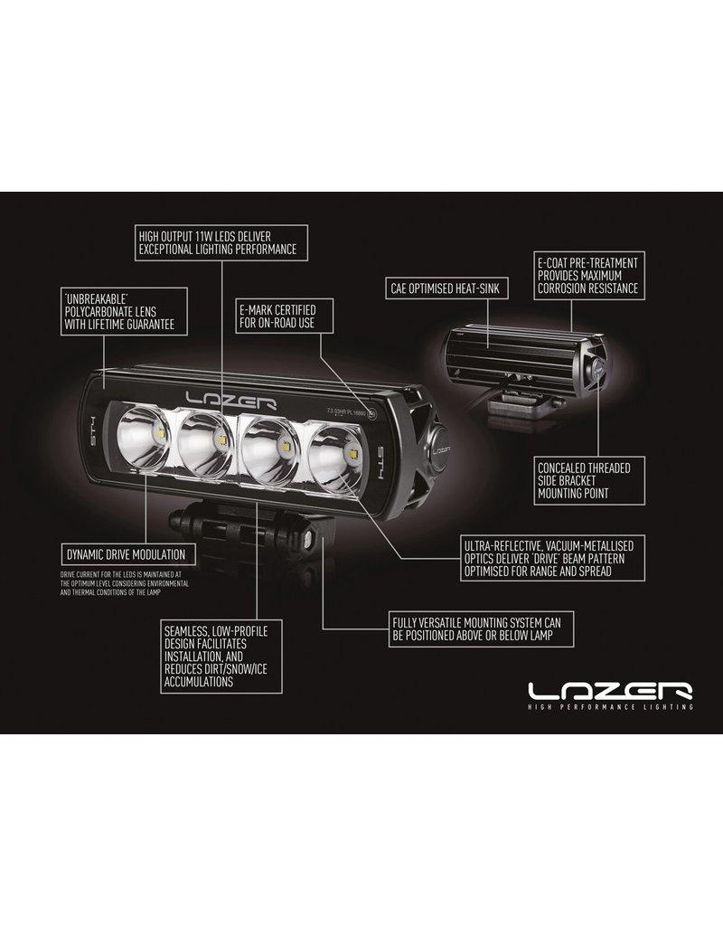 LAZER LED Fernlicht Einbausatz für MAN TGE 2017+