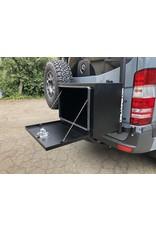 Owl's lightweight aluminum cargo box 61 x 48 x 40,6 cm