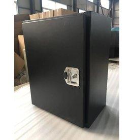 XL lightweight aluminum cargo box 61 x 76 x 40,6 cm