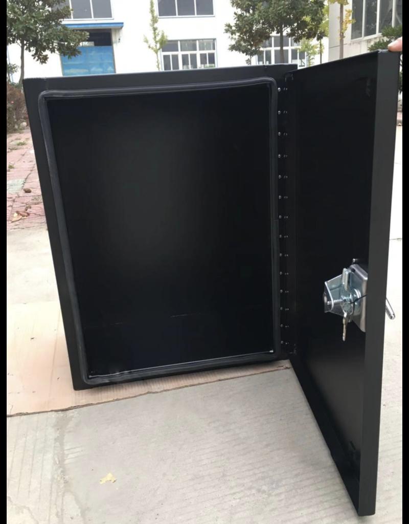 Owl's XL lightweight aluminum cargo box 61 x 76 x 40,6 cm