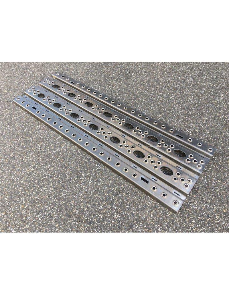 Plaque de désensablage en Aluminium H-1300, 44 cm large x 130 cm long