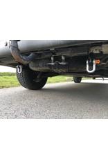 TERRANGER Bergelaschen (Bergeösen) mit Schäkel, hinten, für Volkswagen Transporter T5 / T6 / T6.1