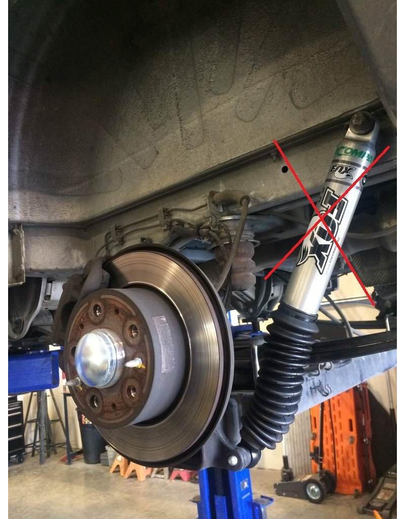 Van Compass body lift kit complete, 3,81 cm, for Fiat Ducato III/Citroën Jumper II/Peugeot Boxer II/Ram ProMaster (Typ 250) without rear FOX shocks