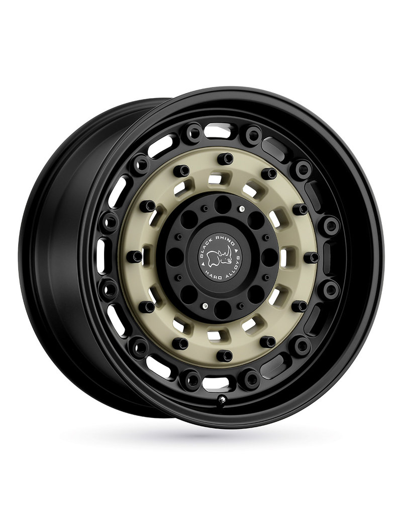 Black Rhino Arsenal  16x8  6/130 ET38, SAND ON BLACK, Mercedes Sprinter