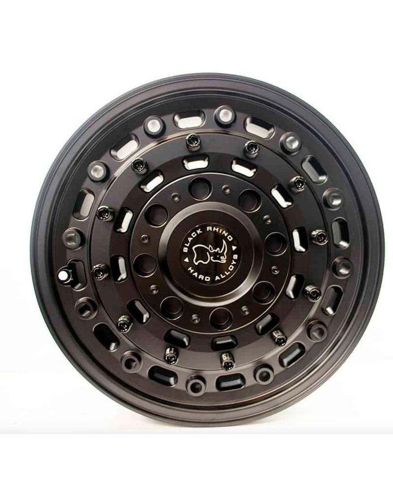 Black Rhino Arsenal  16x8  6/130 ET38 , TEXTURED MATTE BLACK,  Jante en alliage extremement dur, pour Mercedes Sprinter