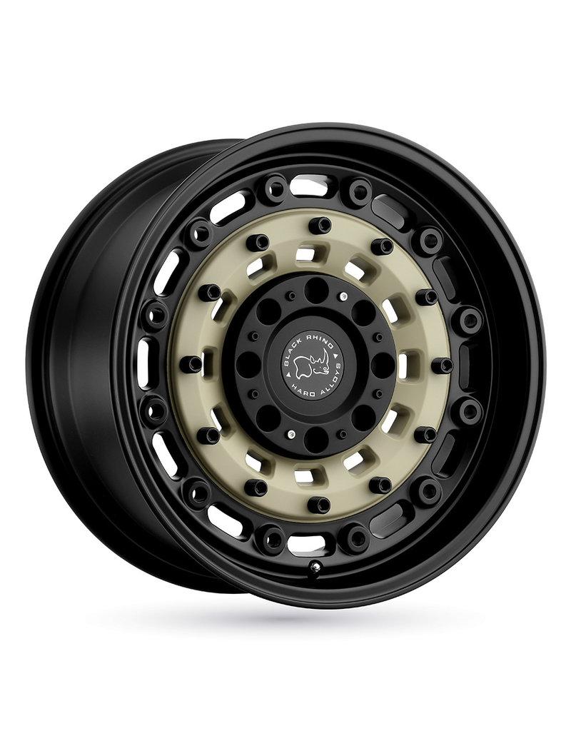 Black Rhino Arsenal  17x8  6/130 , SAND ON BLACK, Mercedes Sprinter