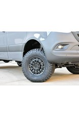 Black Rhino Arsenal  17x8  6/130 ET38, TEXTURED MATTE BLACK, Mercedes Sprinter