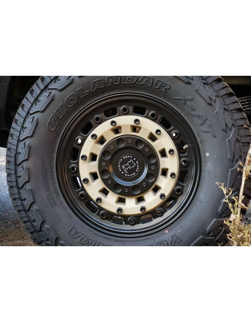 Black Rhino Arsenal  18x8  6/130 , SAND ON BLACK, Mercedes Sprinter