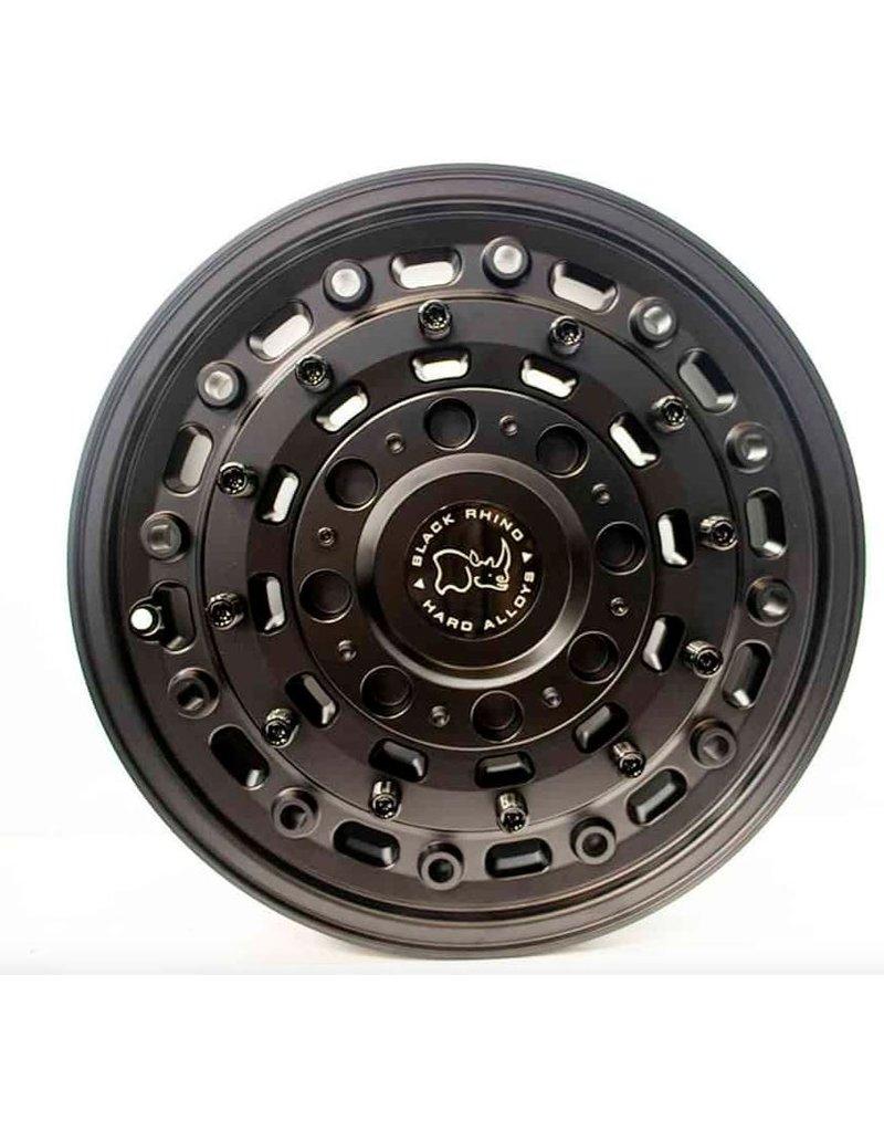 Black Rhino Arsenal  18x8  6/130 ET38, TEXTURED MATTE BLACK,  Jante en alliage extremement dur, pour Mercedes Sprinter