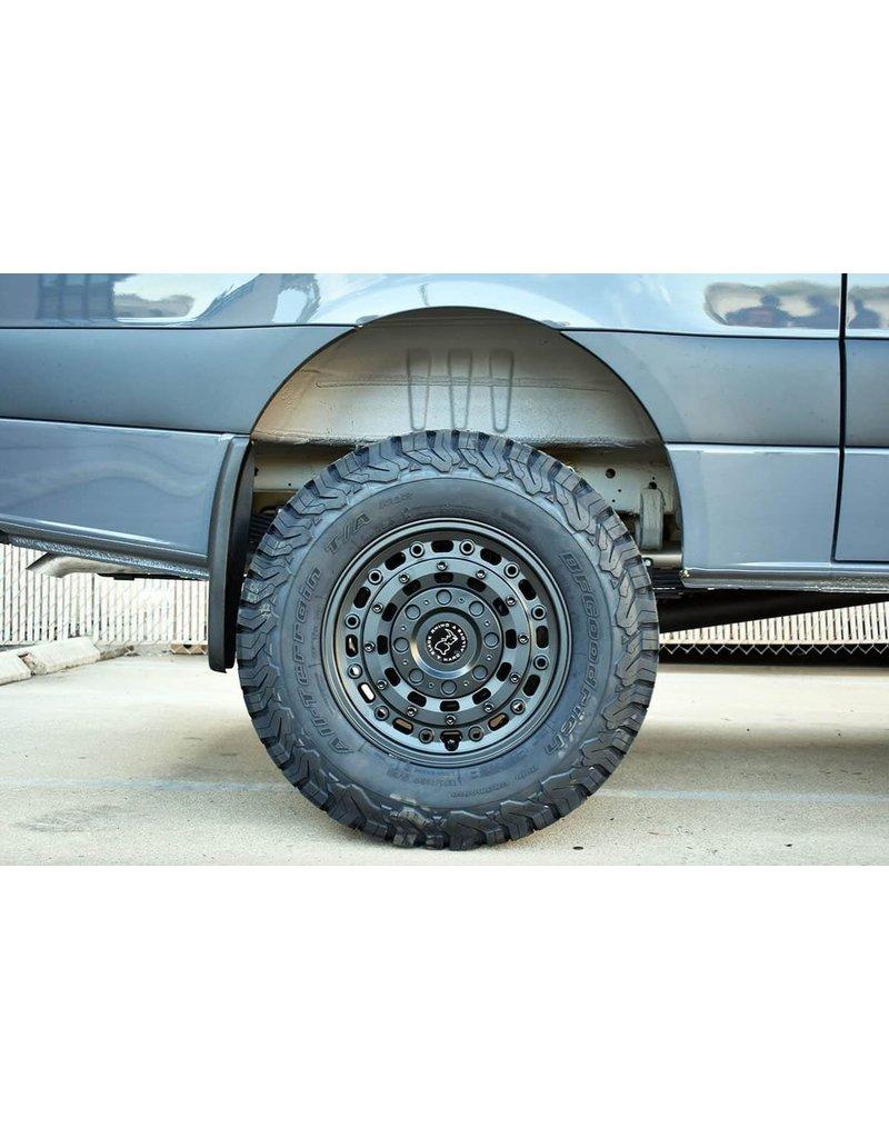 Black Rhino Arsenal  18x8  6/130 ET38, TEXTURED MATTE BLACK, Mercedes Sprinter