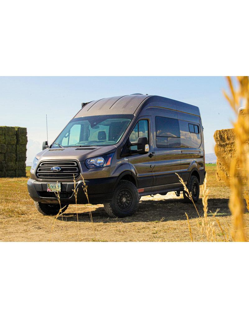 Black Rhino Arsenal  16x8  5/160 , TEXTURED MATTE BLACK, Ford Transit