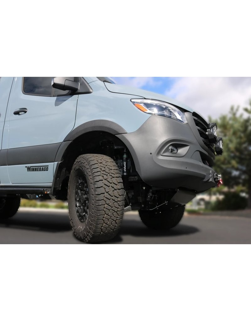 VAN COMPASS ™ MERCEDES SPRINTER 907 Schmutzlappen-Versetzungs-halter für große Reifen