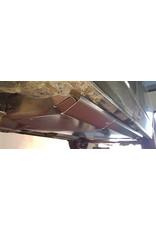 Schutzplatte für Kraftstofftank, Adblue Tank und Webasto Heizung aus Aluminium 5 mm für VW T6