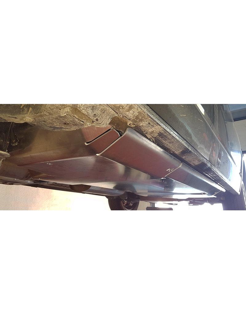VW T6  Protection de réservoir de gasoil + réservoir Adblue + chauffage Webasto  en aluminium 5mm