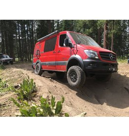 Sprinter 906 / VW Crafter Fender flare extensions for big tires