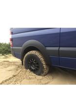 Sprinter 906 / VW Crafter Fender flare extensions for big tires