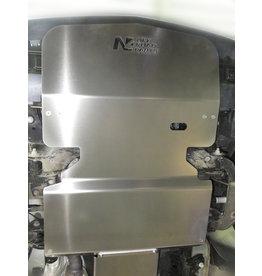 MB 447  4x4 blindage moteur en alu 6 mm