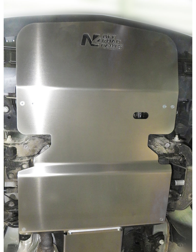 N4 6 mm Aluminium-skid plate /engine protection for Mercedes Vito 447 4x4