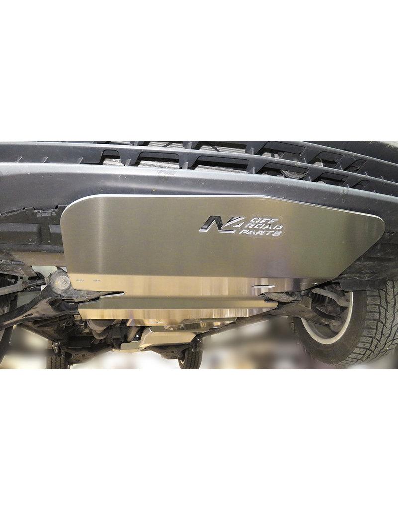 Mercedes Vito 4x4 Unterfahrschutz Motor Alu 6 mm