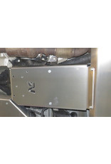 "N4 alu 6 mm skid plate ""gearbox"", Mercedes Vito 447 4x4"
