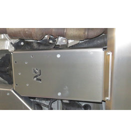 "alu 6 mm skid plate ""gearbox"", Mercedes Vito 447 4x4"