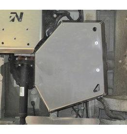 6 mm Alu Schutzplatte AdBlue®-Tank für MB 447 4x4