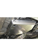 N4 Mercedes 447 4x4 - 6 mm Alu Schutzplatte AdBlue®-Tank