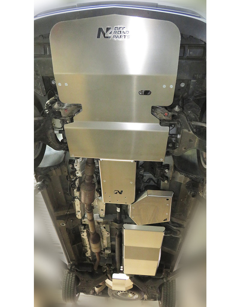 Mercedes 447 4x4 6  Aluminum-protection skid plate kit AdBlue®-tank