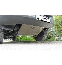 N4 Aluminium-protection for engine /skid plate Mercedes Sprinter 906 4x2