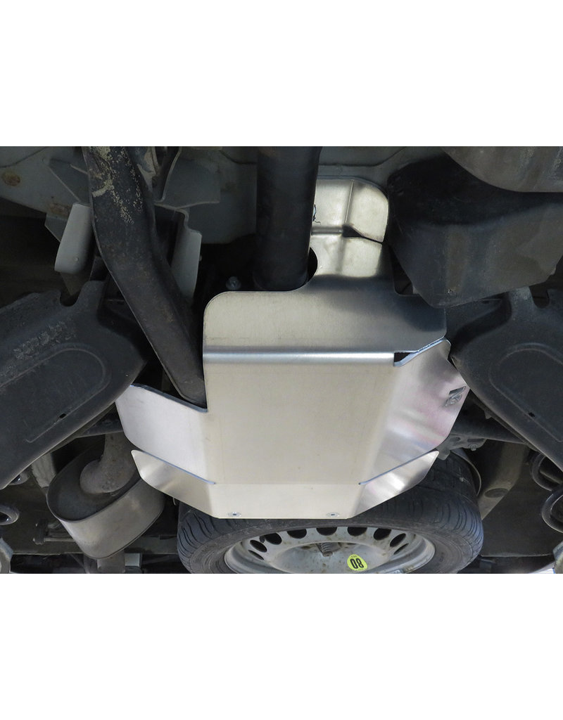 Mercedes Vito 447 4x4 6mm Aluminum-protection/ skid plate for differentiel