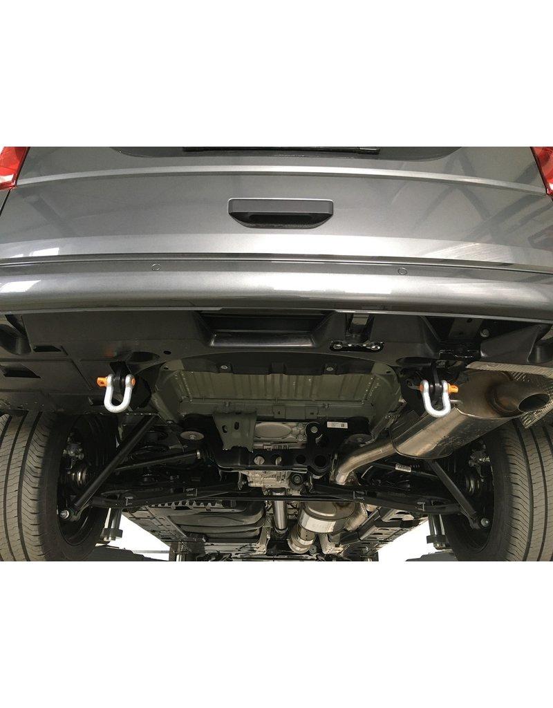 TERRANGER Anneaux de remorquage avec manilles, arrière, adaptés au VW T5&T6