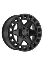 Black Rhino York 17x8  6/130 ET 52, MATTE BLACK,  Mercedes Sprinter