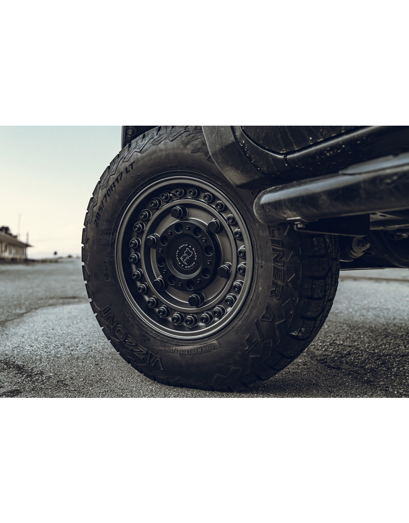 Black Rhino ARMORY 16x8  6/130 ET38 , MATTE GUN BLACK, Mercedes Sprinter